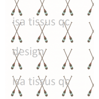 Coton / Selection Isa tissus Qc / Pagaie