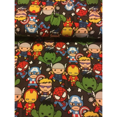 Jersey / Knit imprime hero marvel cartoon