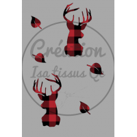 Design isa tissus Qc /Buck plaid carreauté