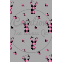 Design isa tissus Qc / buck plaid / carreauté
