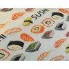Jersey / kint/ Selection Isa tissus Qc / Sushi