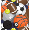 Selection Isa tissus Qc /basketball / soccer / tenis/ bowling /football / baseball / sport