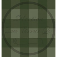Jersey / Design Stéphanye Boileau  / Plaid carreauté kaki