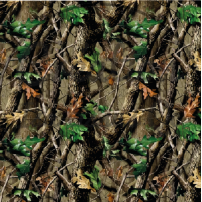Tissus pour maillot, Lycra / Camouflage reel tree