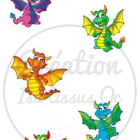 Design isa tissus Qc / Dragon