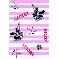 Design isa tissus Qc / Hockey fille