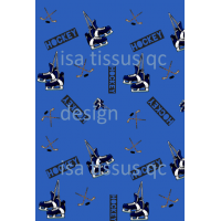 Design isa tissus Qc / Hockey