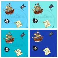 Design isa tissus Qc / Pirate