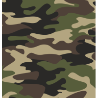 Coton / Selection Isa tissus Qc / Camouflage armée